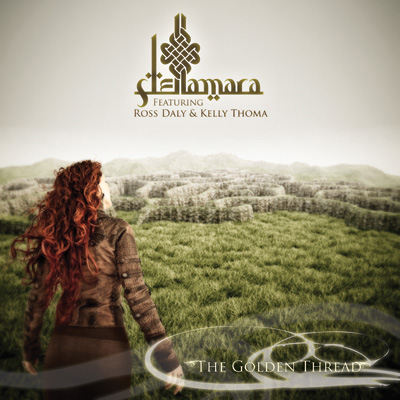 "Stellamara's ""The Golden Thread"" CD cover art"